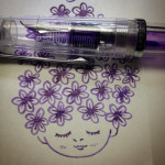 紫お花ちゃん