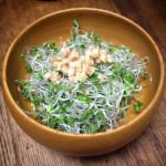 ブロッコリースプラウト&酢生姜