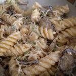 ごぼうとブロッコリースプラウトのマカロニマヨサラダ