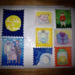 「おっぱいとお月さま」偽切手セット