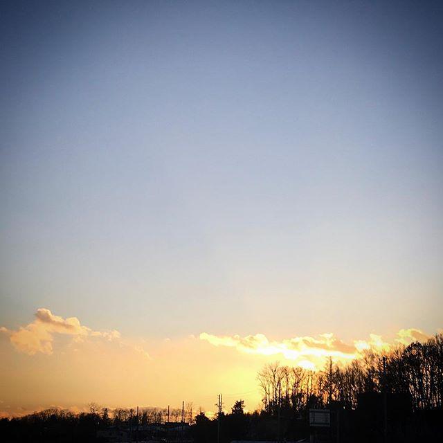 ️️️ #sky #clouds #hokkaido #sunset #北海道 #空 #雲 #ゆうひ #ソラ #イマソラ