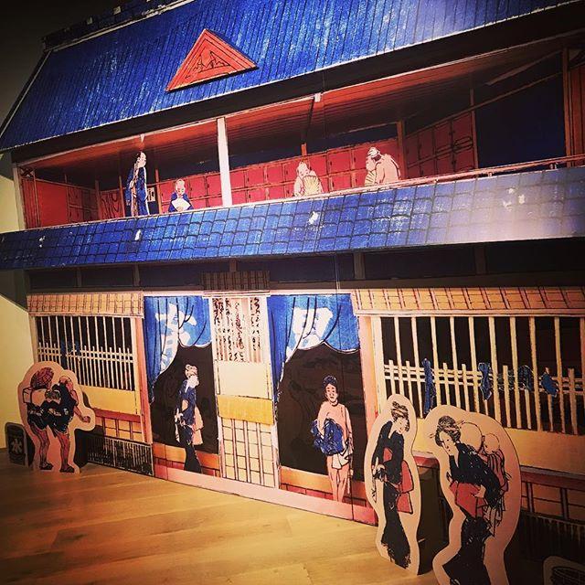 🖼なんだかんだで3時間くらい楽しんじゃった足腰にくるわ〜 #HokusaiUpdated #art #exhibition #新北斎展 #森アーツセンターギャラリー #葛飾北斎