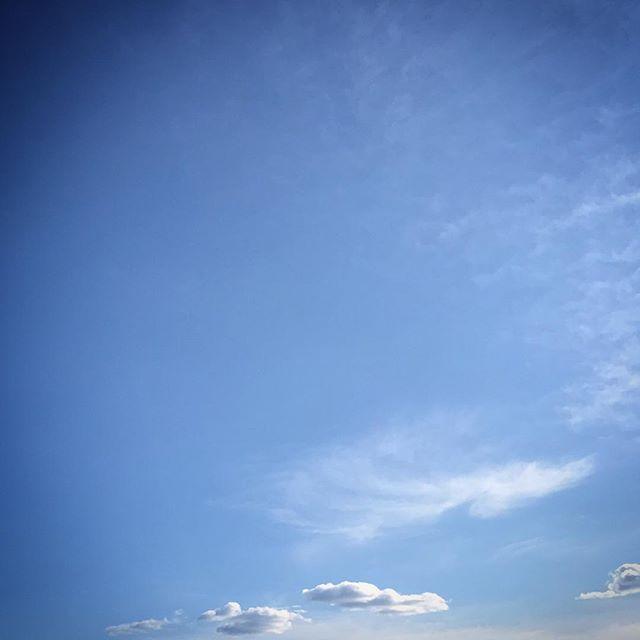 ️️️ #sky #clouds #hokkaido #北海道 #空 #雲 #ソラ #イマソラ