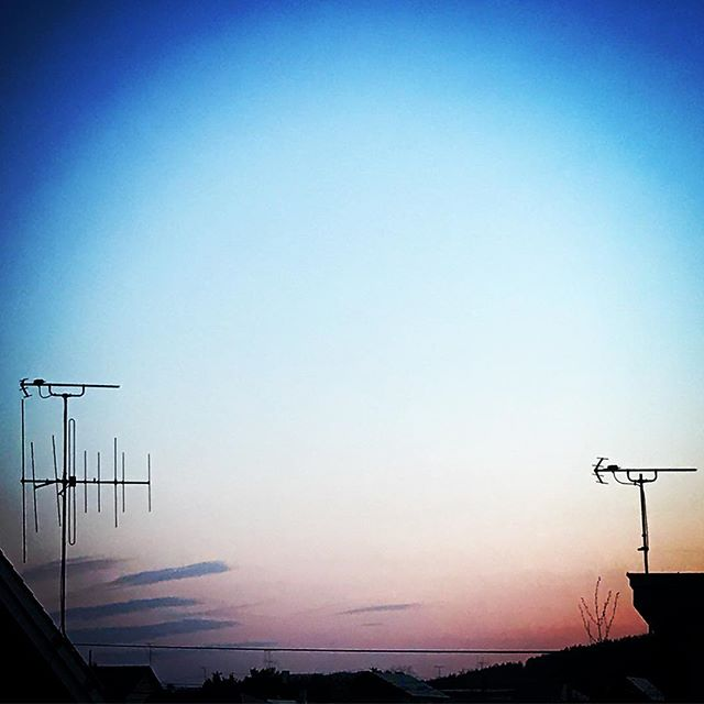 ️️️ #sky #sunset #clouds #hokkaido #北海道 #空 #雲 #ソラ #ゆうやけ