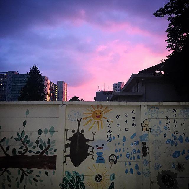 いつかの夕陽 #sky #clouds #sunset #shinjuku  #tokyo #空 #雲 #ソラ #イマソラ #ゆうやけ