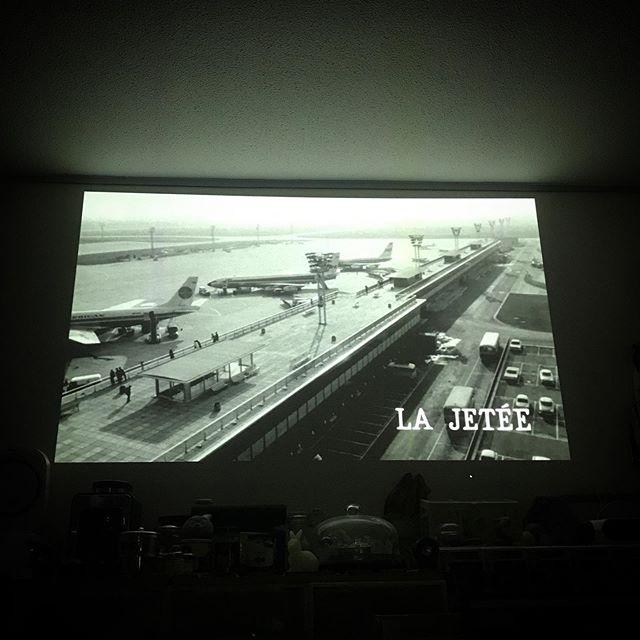 movie time La Jetée  #movie #cinema #film #shortfilm  #frenchmovie #hometheater