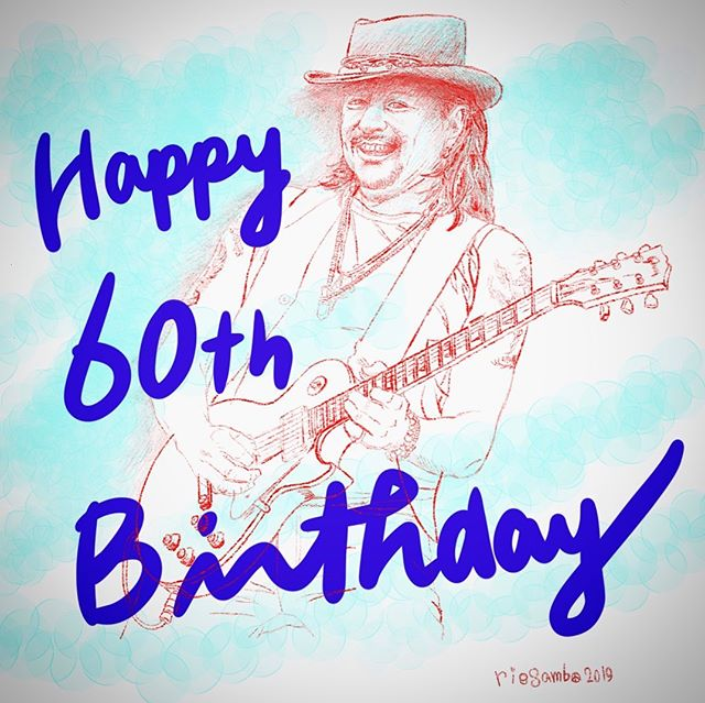 @therealsambora 😎Wishing you a wonderful 60th birthday!!! 🏼🕊🥳