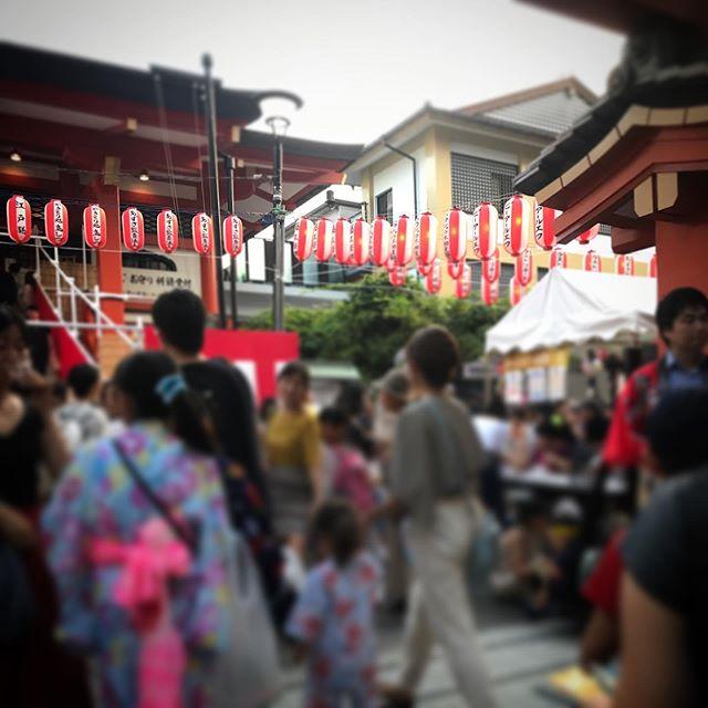 ⛩祭だ祭だ! #お散歩 #神楽坂 #飯田橋 #walking #kagurazaka #sky #イマソラ