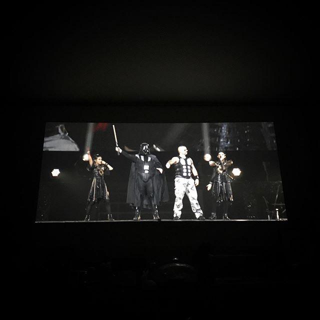 Metal Galaxy への壮大な前フリ🤣🍿 @babymetal_official 🏻🦊☠️Dark night carnival  #babymetal #sabaton #galacticempire #music #Rock #film #hometheater
