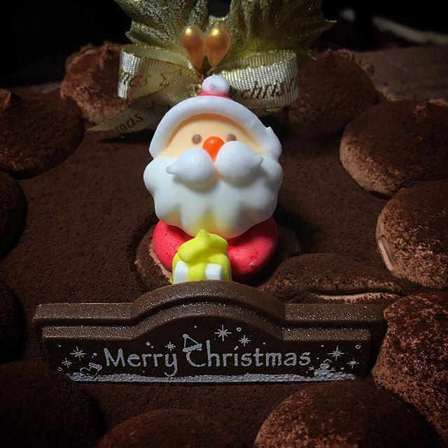 ウチにもサンタさん🏼🤶🏼来てくれた #christmas #sweets #cake #santaclaus