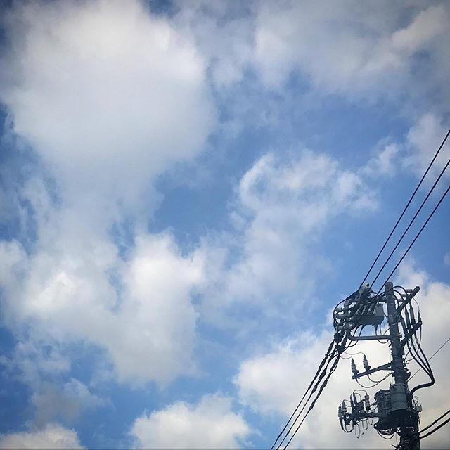 ️🌥️ #sky #clouds #shinjuku #tokyo #空 #雲 #ソラ #けさそら