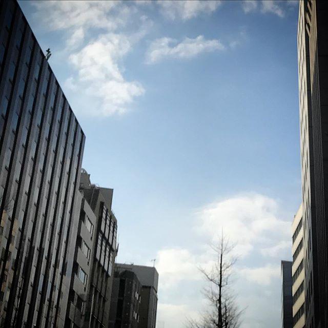 ️🌥️ #sky #clouds #shinjuku #tokyo #空 #雲 #ソラ #ケサソラ