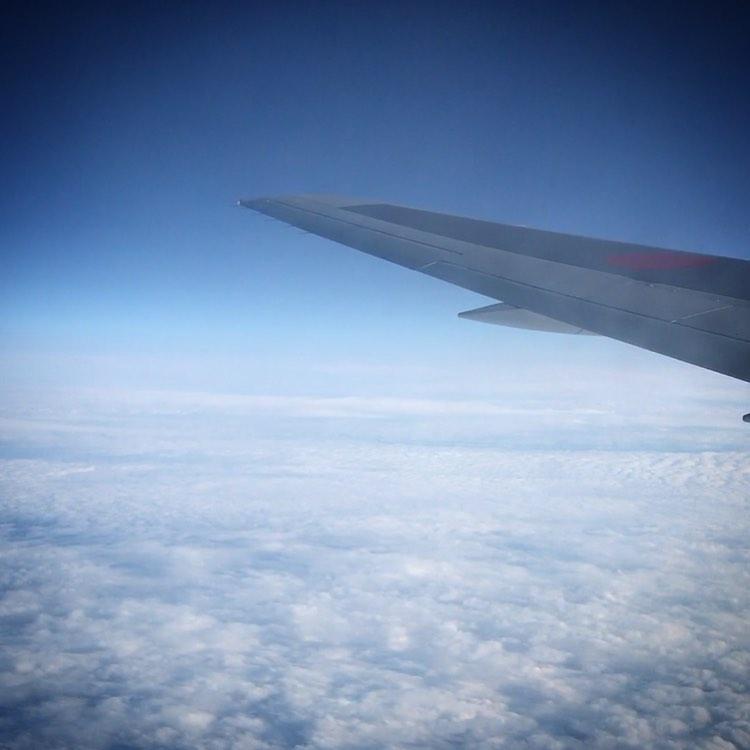 残念だけど明日からのゴールデンウィークの️フライトキャンセル🥺コロ助め〜🦠🏼🏼🏼 #stayhome #sky #clouds #Airdo #flight